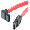 4XEM 12in Standard To Left Angle Sata 3.0 Serial Ata F/f Cable 4XSATA12FFLA 00873791005291