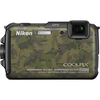 Nikon Coolpix AW110 16 Megapixel Compact Camera - Camouflage 26413 00018208264131