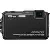 Nikon Coolpix AW110 16 Megapixel Compact Camera - Black 26410 00018208264100