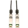 Tripp Lite 1M Sfp+ 10Gbase-CU Twinax Passive Copper Cable SFP-H10GB-CU1M Compatible Black 3ft 3