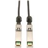 Tripp Lite 0.5M Sfp+ 10Gbase-CU Twinax Passive Copper Cable Black SFP-H10GB-CU50CM Compatible 20 Inch N280-20N-BK 00037332178213