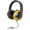 Syba Multimedia Oblanc U.f.o. Yellow Stereo Headphone W/in-line Microphone OG-AUD63045 00810154019137