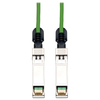 Tripp Lite 3M Sfp+ 10Gbase-CU Twinax Passive Copper Cable SFP-H10GB-CU3M Compatible Green 10ft 10