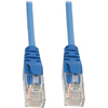 Tripp Lite 75ft Cat5e / Cat5 Plenum Snagless Patch Cable RJ45 M/m Blue 75