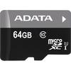 Adata Premier 64 Gb Class 10/UHS-I Microsdxc ASDX64GUICL10-B