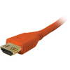 Comprehensive Pro Av/it High Speed Hdmi Cable With Progrip, Surelength, CL3- Deep Orange 1.5ft HD-HD-18INPROORG 00808447068054
