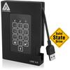 Apricorn Aegis Padlock A25-3PL256-S512F 512 Gb Solid State Drive - External A25-3PL256-S512F 00708326913782