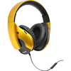 Syba Multimedia Oblanc SHELL210 Saffron Yellow Subwoofer Headphone W/in-line Microphone OG-AUD63056 00810154019243