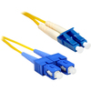 Cisco Compatible 15216-LC-SC-5 - 5M Lc/sc Duplex Single-mode 9/125 OS1 Or Better Yellow Fiber Patch Cable 5 Meter Lc-sc Individually Tested 15216-LC-SC-5ENC 00816678013637