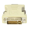 Addon 5-Pack Of Dvi-i Male To Vga Female White Adapters DVII2VGAW-5PK 00821455059005