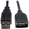 Tripp Lite 6ft Usb 2.0 High Speed Extension Cable Reversible A To A M/f UR024-006 00037332179593