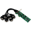 Startech.com 8 Port Pcie RS232/422/485 Serial Card- 4x RS232 4x RS422/RS485 PEX8S232485 00065030852234