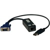 Tripp Lite Usb Single Server Interface Unit Virtual Media Kvm Switch HD15 Usb RJ45 Taa B078-101-USB-1 00037332178688