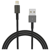 4XEM 15FT 5M Black Charging Data And Sync Cable For Apple Iphone 5 5s 6 6s 6plus 7 7plus 4XLIGHTNINGBK15 00873791008384