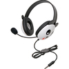 Califone Stereo Headset Panda With Mic 3.5Mm Plug 2810-TPA 00610356832219