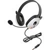 Califone Stereo Headset, Panda W/ Mic 3.5mm Plug Via Ergoguys 2810-TPA 00610356832219