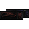 A4TECH Wired Keyboard W/ Large Print Backlite Led Lighting W9870 00635440000695