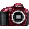 Nikon D5300 24.2 Megapixel Digital Slr Camera Body Only - Red 1520 00018208015207