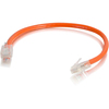 C2G 6in Cat5e Non-booted Unshielded (utp) Network Patch Cable - Orange 00947 00757120009474