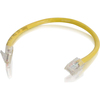 C2G 6in Cat6 Non-booted Unshielded (utp) Network Patch Cable - Yellow 00966 00757120009665