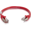 C2G 6in Cat6 Snagless Shielded (stp) Network Patch Cable - Red 00983 00757120009832