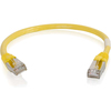 C2G 6in Cat6 Snagless Shielded (stp) Network Patch Cable - Yellow 00984 00757120009849