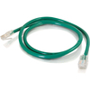 C2G 6in Cat5e Non-booted Unshielded (utp) Network Patch Cable - Green 00944 00757120009443