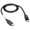 Black Box Displayport Cable, Male/male, 32 Awg, 3-ft. (0.9-m) VCB-DP-0003-MM 00822088062141