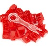 Black Box Lockport Secure RJ45 Port Lock - Red, 25-Pack - New PL-AB-RD-25PAK 00822088066200