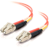 C2G 7m Lc-lc 50/125 Duplex Multimode OM2 Fiber Cable - Orange - 23ft 33033 00757120330332