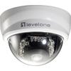 Levelone H.264 2-Mega Pixel FCS-4101 10/100 Mbps P/t Poe Mini Dome Network Camera W/ir FCS-4101 00846359032213
