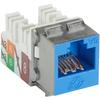 Black Box GigaTrue2 CAT6A Jacks, Blue, 25-Pack C6AJA70-BL-25PAK 00822088064381