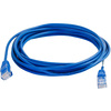 C2G 6in Cat5e Snagless Unshielded (utp) Slim Network Patch Cable - Blue 01017 00757120010173