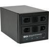 Tripp Lite Usb 3.0 Superspeed 2 Bay Sata Hard Drive Raid Enclosure W Fan U357-002 00037332181619
