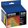 Epson Durabrite Ultra T252 Ink Cartridge - Cyan, Black, Magenta, Yellow T252120-BCS 00010343910577