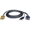 Tripp Lite 10ft Usb Cable Kit For Kvm Switch 2-in-1 B020 / B022 Series Kvms P776-010 00037332121943
