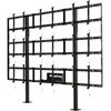 Peerless-av Modular Video Wall Pedestal Mount 3x3 Configuration For 46 Inch To 55 Inch Displays DS-S555-3X3 00735029303480