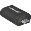Manhattan Import Usb Mobile Otg Adapter, Micro Usb 2.0 To Usb 2.0 406192