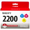 Canon PGI-2200 Cmy Ink Cartridge - Yellow, Cyan, Magenta 9304B005 00660685128026