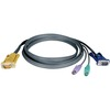 Tripp Lite 25ft PS/2 Cable Kit For Kvm Switch 3-in-1 B020 / B022 Series Kvms P774-025 00037332121554
