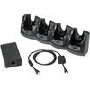 Zebra Four Slot Charge Only Cradle Kit -CRD5501-401CES CRD5501-401CES 09999999999999