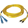 Tripp Lite 5M Duplex Singlemode 8.3/125 Fiber Optic Patch Cable Sc/st 16