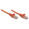 Intellinet Network Solutions Cat5e Utp Network Patch Cable, 7 Ft (2.0 M), Orange 338288