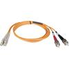 Tripp Lite 5M Duplex Multimode 50/125 Fiber Optic Patch Cable Lc/st 16