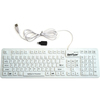 Wetkeys Sanitype Washable  Inchsoft-touch Comfort Inch Hygienic Keyboard (usb) (white) KBSTFC106-W 00604776617310