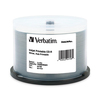 Verbatim Cd-r 700MB 52X Datalifeplus Silver Inkjet Printable, Hub Printable - 50pk Spindle 94798 00023942947981
