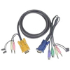 Aten Keyboard / Mouse / Video / Audio Cable 2L5303P 00672792151187
