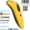 Socketscan® S740, 1D/2D Imager Barcode Scanner, Yellow CX3415-1834 00758497113733