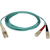 Tripp Lite 10M 10Gb Duplex Multimode 50/125 OM3 Lszh Fiber Optic Patch Cable Lc/sc Aqua 33