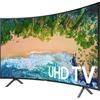 Samsung 7300 UN65NU7300 64.5 Inch 2160p Curved Screen Smart Led-lcd Tv - 16:9 - 4K Uhdtv - Charcoal Black UN65NU7300FXZA 00887276257488